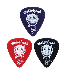 Motorhead Collectible Warpig Guitar Picks, Set of 3
