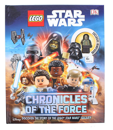 LEGO Star Wars Chronicles of the Force Hardcover Book
