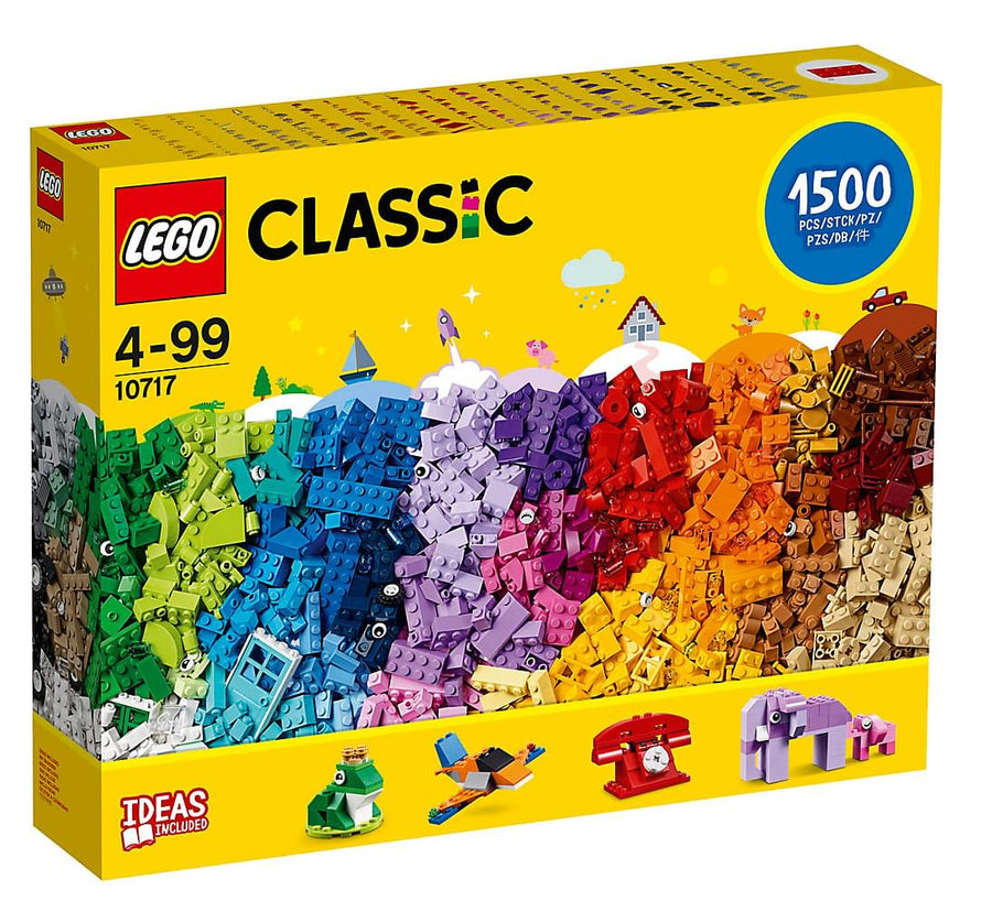 LEGO Classic 1500-Piece Brick Set 10717