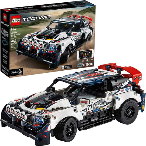 LEGO Technic App-Controlled Top Gear Rally Car | 463 Pieces