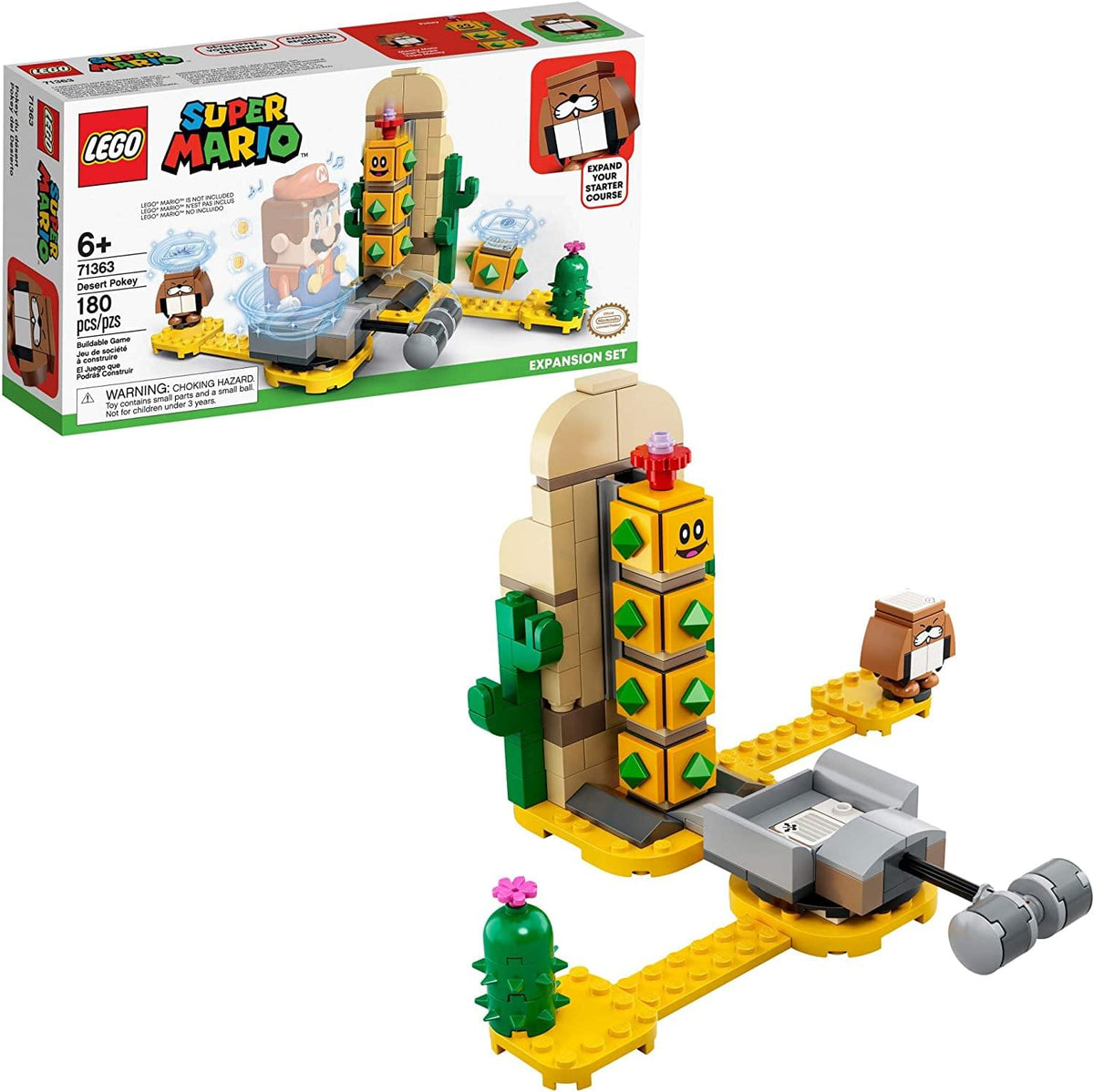 LEGO Super Mario Desert Pokey 71363 | 180 Piece Expansion Set
