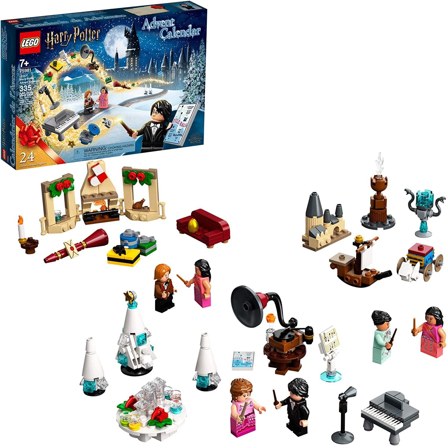 LEGO Harry Potter Advent Calendar 75981 | 24 Gifts