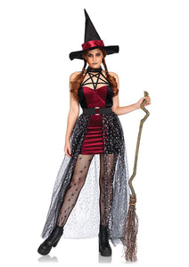 Women's 3PC. Celestial Witch Costume