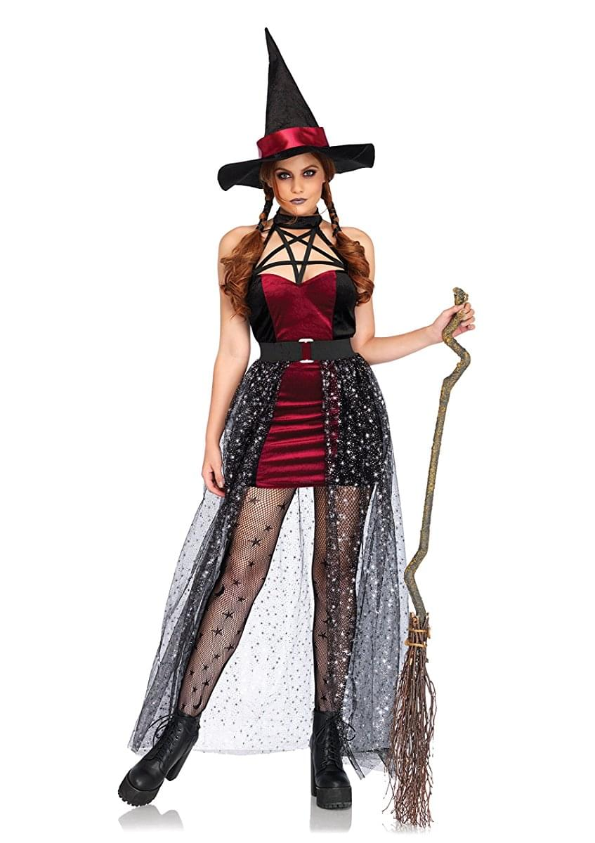 Women's 3PC. Celestial Witch Costume M/L