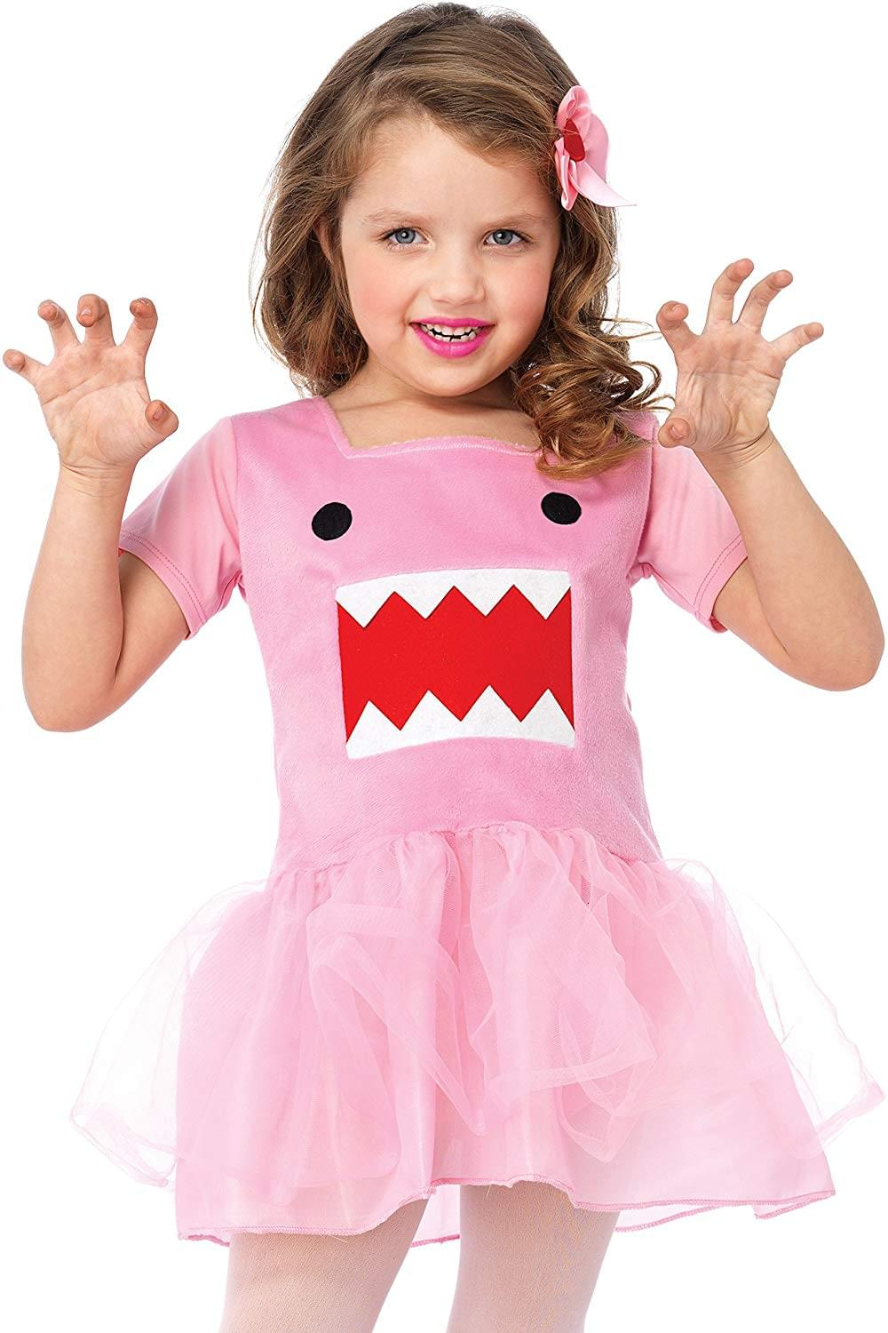 Domo Dress Child Toddler Costume
