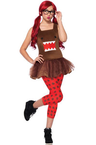Domo Costume Brown Tights
