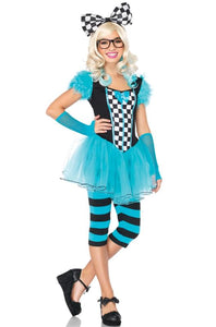 Wonderland Nerd Alice Teen Costume