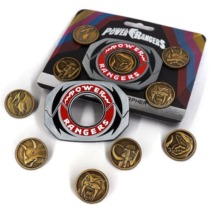 Power Rangers Legacy Morpher 6 Piece Pin Set
