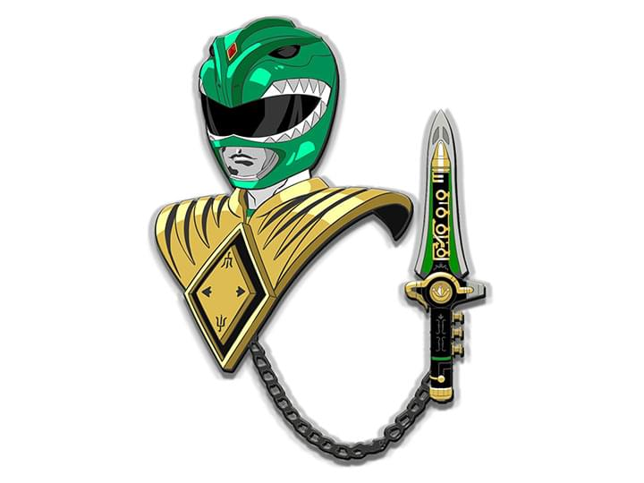 Power Rangers Green Ranger Luxory Enamel Icon Pin