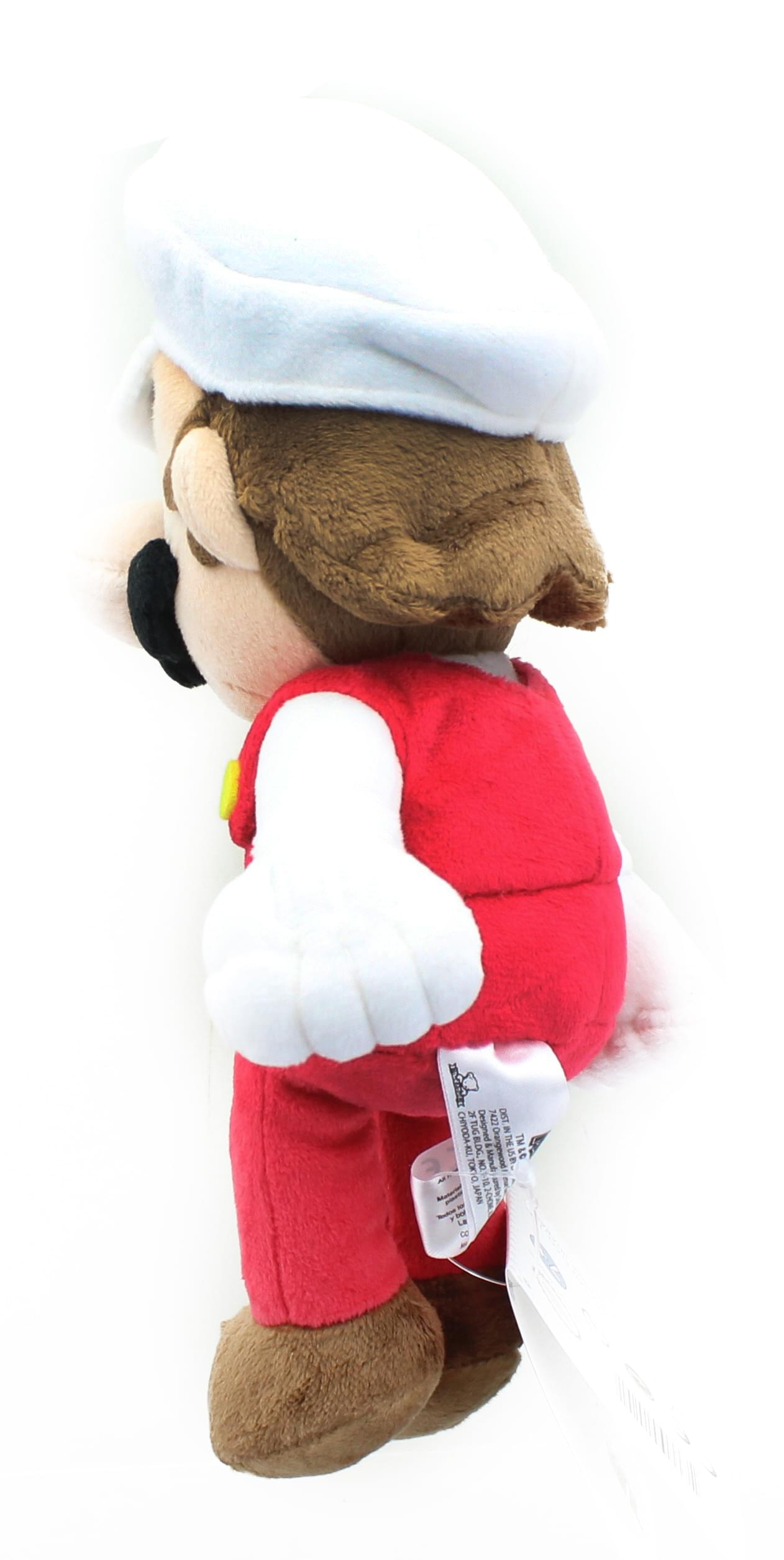 Super Mario All Star Collection 9 5 Inch Plush Fire Mario Free Shi Toynk Toys