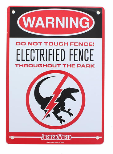 Jurassic World Electrified Raptor Fence 8