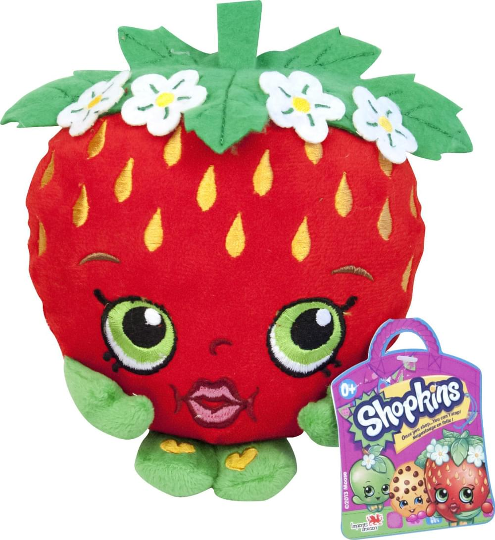"Shopkins 8"" Plush: Strawberry Kiss"