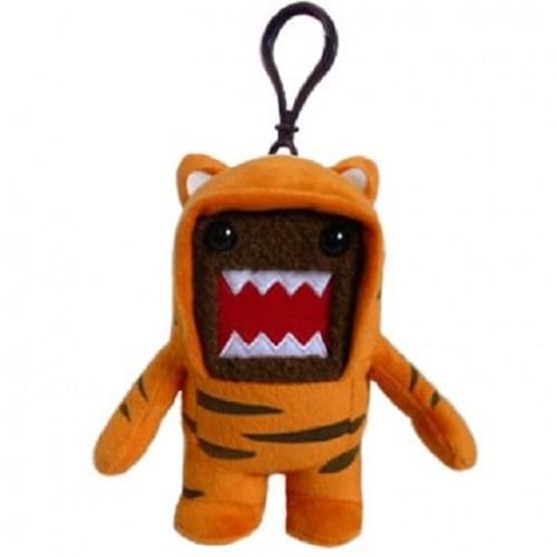 "Domo 4"" Plush Clip On: Tiger Domo"