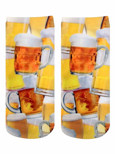 Beer for Everyone Photo Print Ankle Socks
