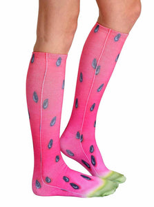 Unisex Watermelon Knee High Socks