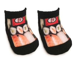Sushi Baby Socks 0-6 Month