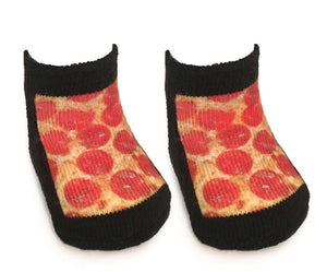 Pizza Baby Socks 0-6 Month