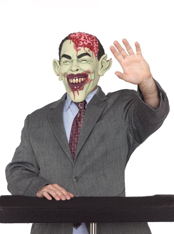 Celebrity Zombie In Charge Costume Mask Adult