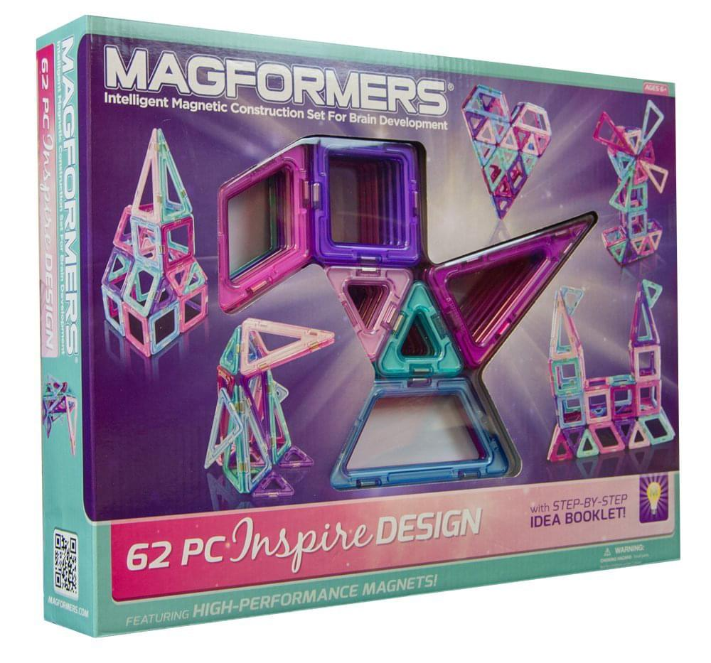 Magformers Inspire Her 62 Piece Set