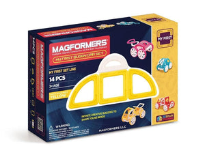 Magformers My First Buggy, Yellow 14-Piece Building Set
