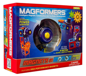 Magformers Magnets in Motion 22-Piece Power Set