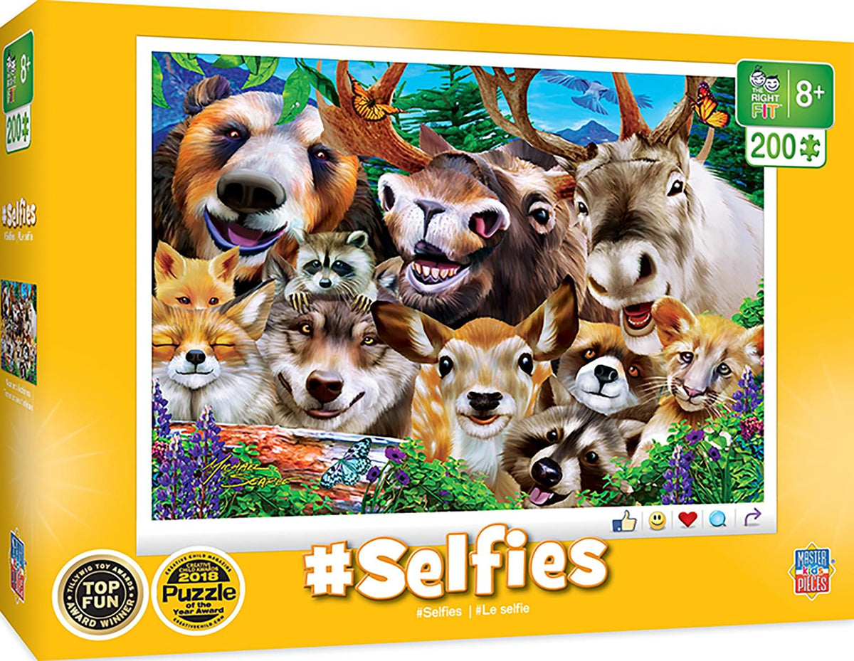 Selfies Woodland Wackiness 200 Piece Jigsaw Puzzle