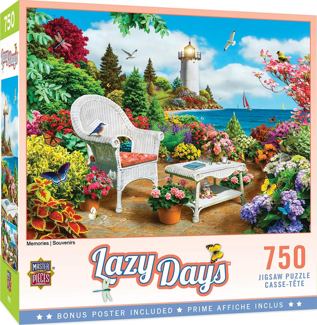 Memories 750 Piece Jigsaw Puzzle