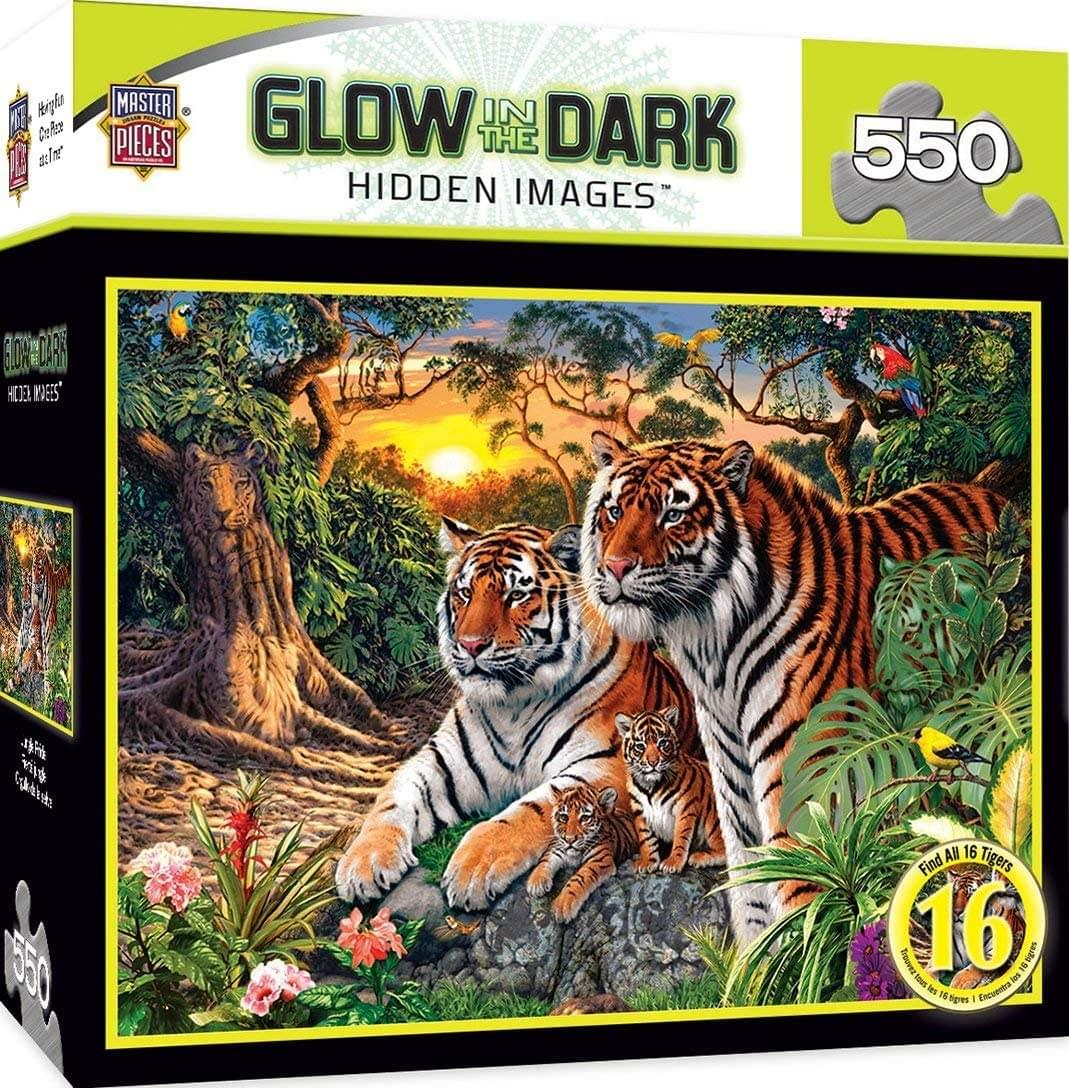 Jungle Pride 550 Piece Jigsaw Puzzle