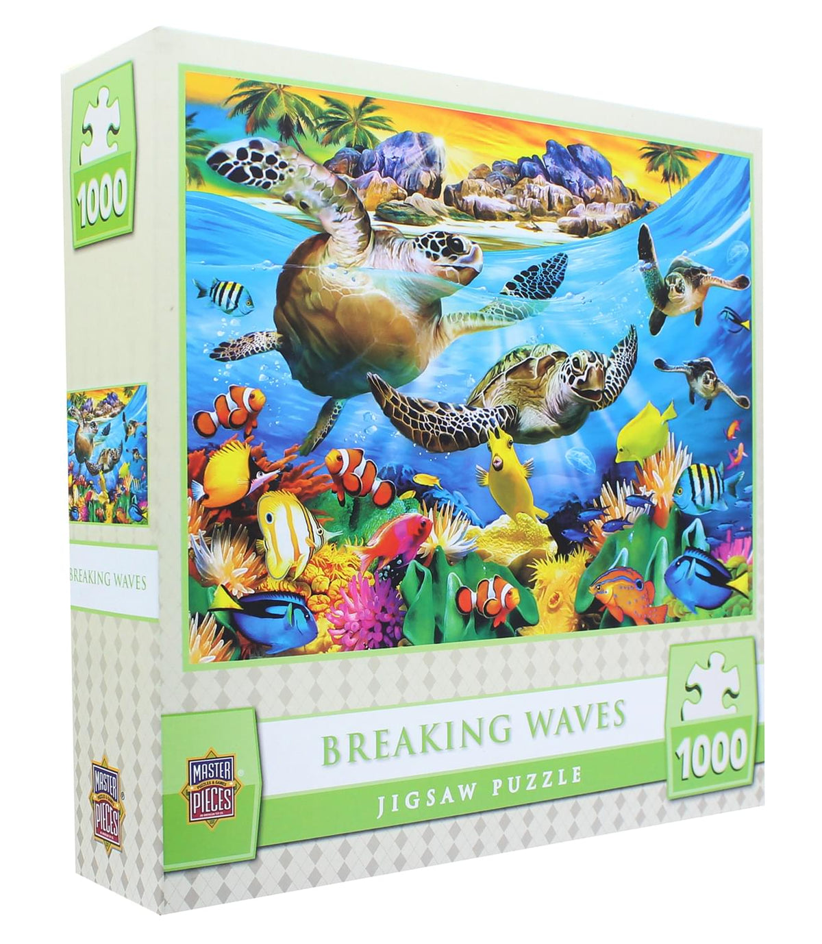 MasterPieces 1000 Piece Jigsaw Puzzle | Breaking Waves