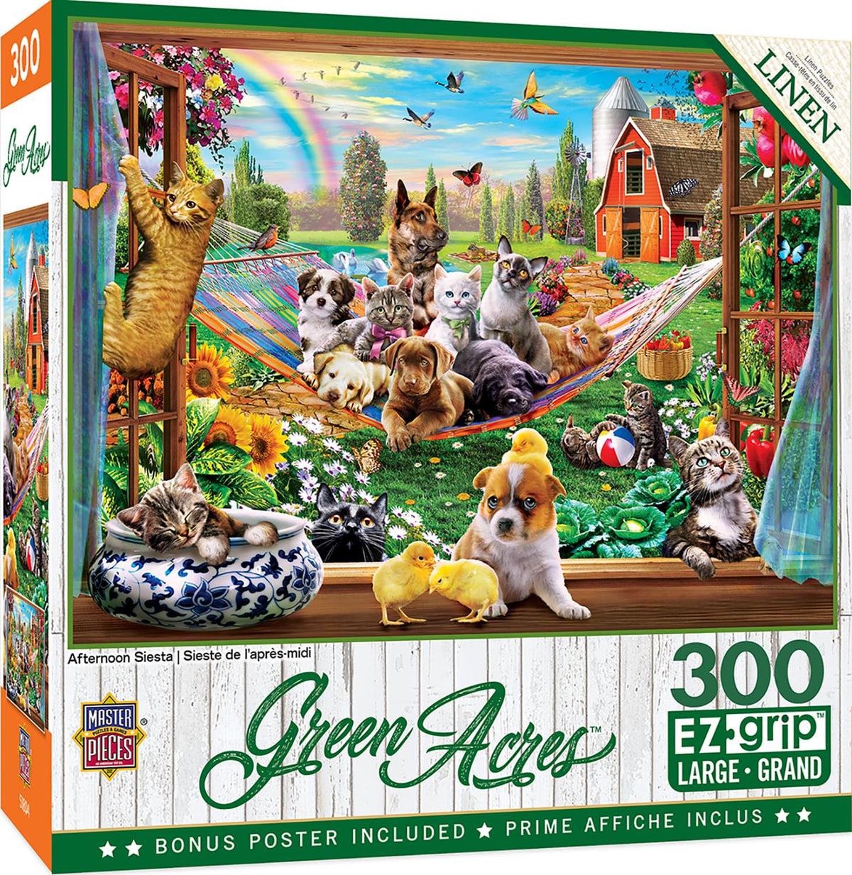 Afternoon Siesta 300 Piece Large EZ Grip Jigsaw Puzzle