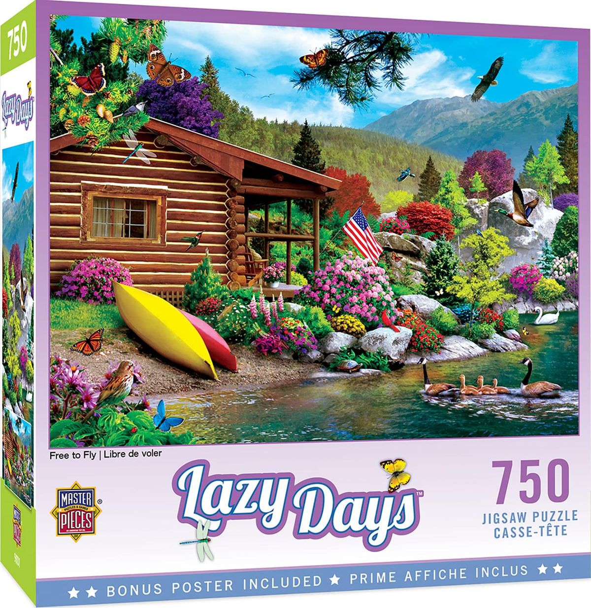 Free to Fly 750 Piece Jigsaw Puzzle