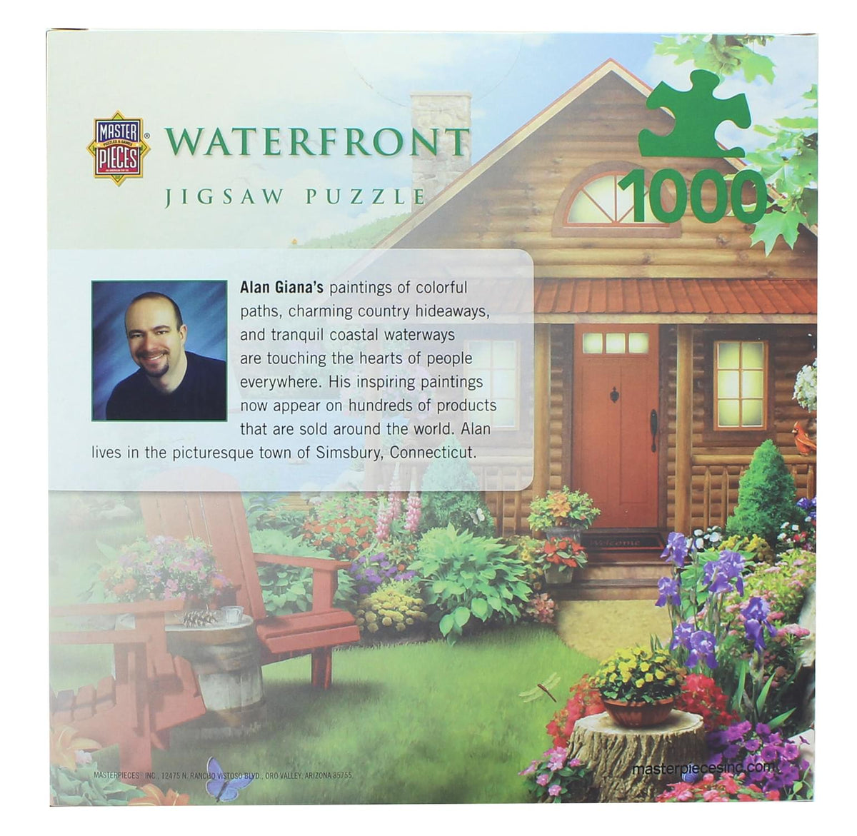 MasterPieces 1000 Piece Jigsaw Puzzle | Waterfront