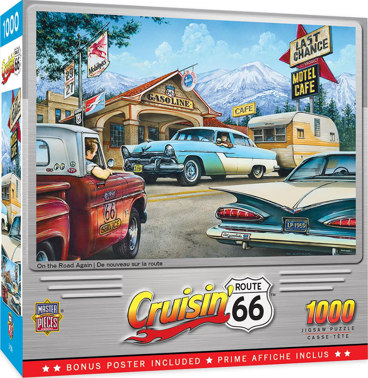 Cruisin On the Road Again 1000 Piece Jigsaw Puzzle