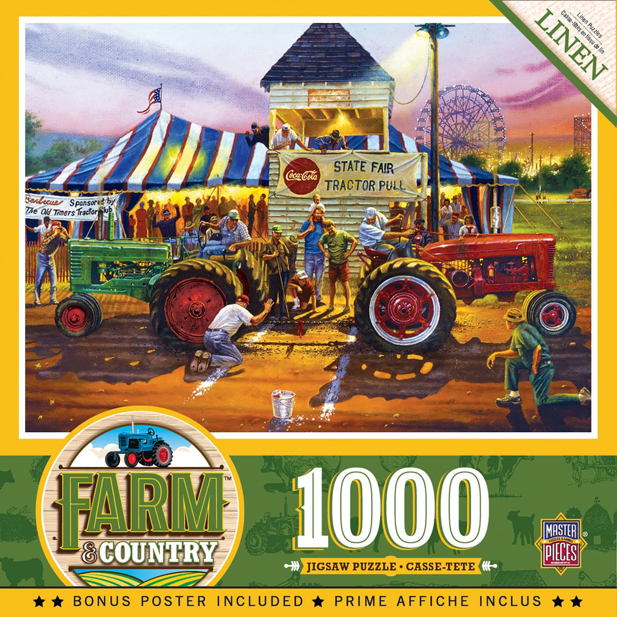 For Top Honors 1000 Piece Linen Jigsaw Puzzle