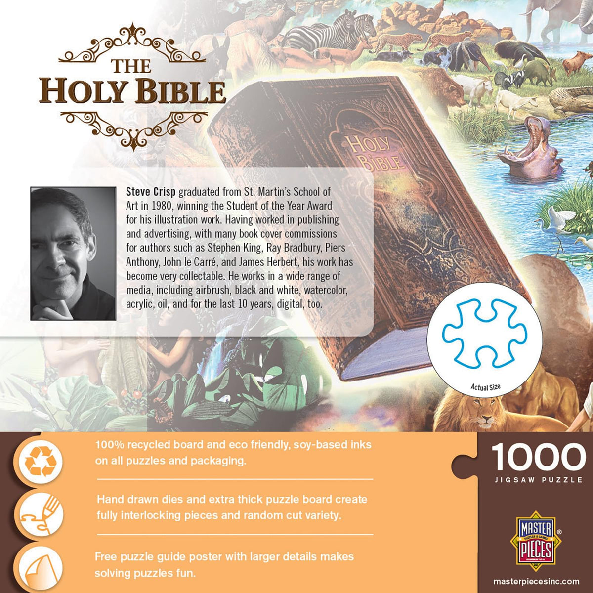 The Holy Bible 1000 Piece Jigsaw Puzzle