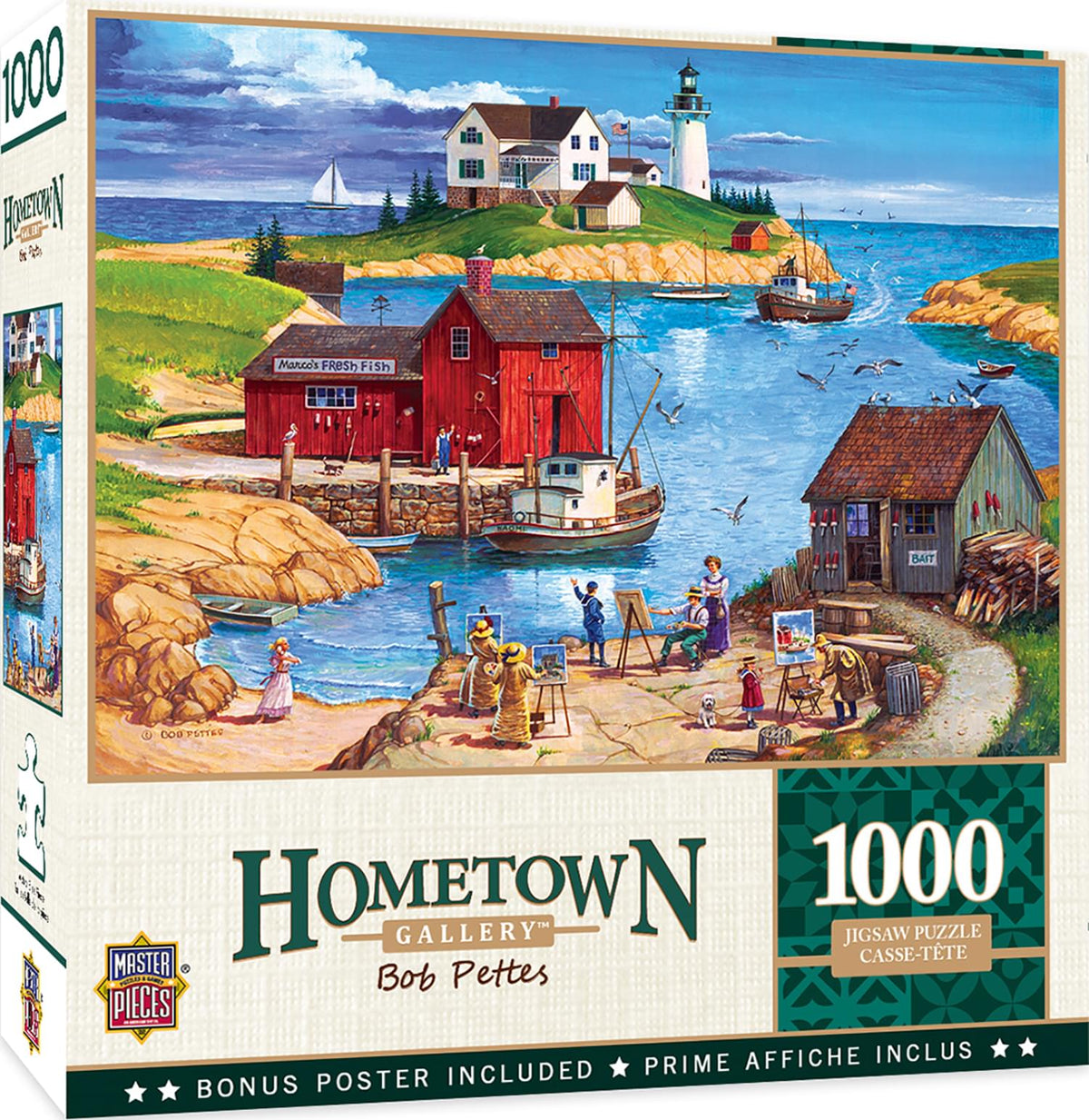 Hometown Gallery Ladium Bay 1000 Piece Jigsaw Puzzle