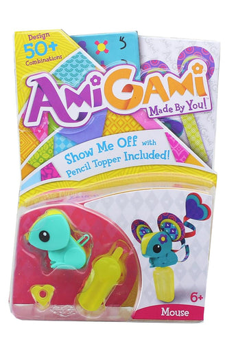AmiGami DIY Mini Figure, Mouse