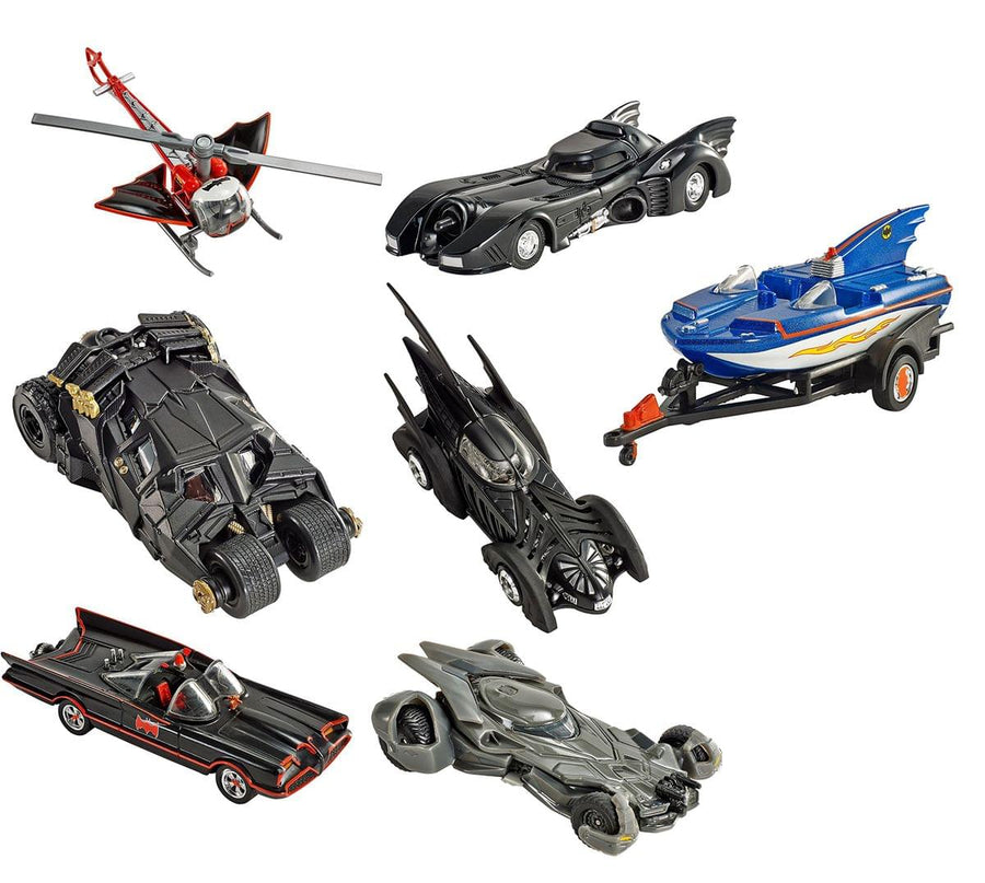 Hot Wheels 1:50 Batman Vehicles, Set of 7