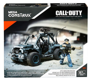 Mega Bloks Call of Duty ATV Ground Recon Building Set