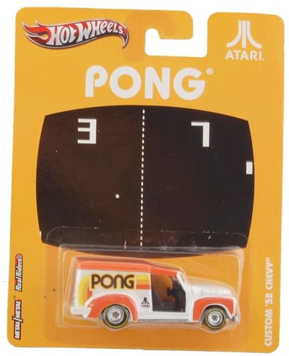 Hot Wheels Atari Nostalgic Diecast Vehicle: Pong Custom '52 Chevy