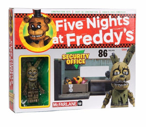 Five Nights At Freddy's Construction Set: The Security Office