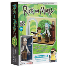 Load image into Gallery viewer, Rick and Morty 98-Piece Construction Set w/ Evil Rick and Morty