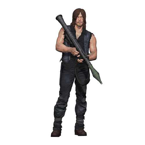 The Walking Dead 10 Inch Daryl Dixon w/ Rocket Launcher McFarlane Action Figure