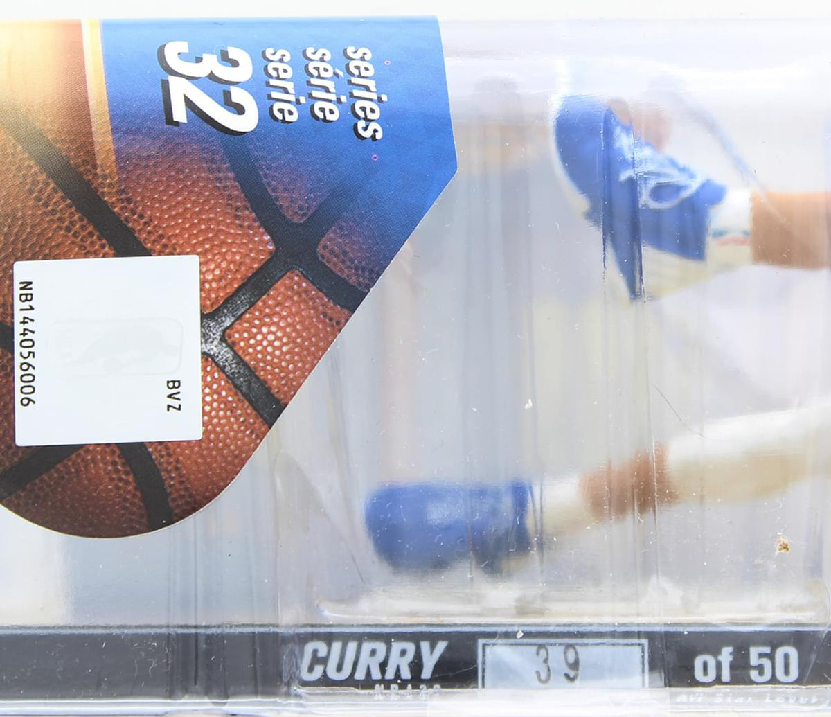 "Golden State McFarlane NBA 32 Figure - Stephen Curry Yellow ""The Bay"" #39 of 50"
