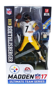 Pittsburgh Steelers Madden NFL 17 S2 Figure: Ben Rothlisberger (Jersey Variant)