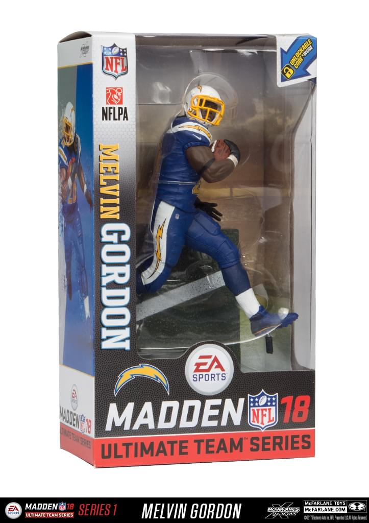 NFL Madden Ultimate Team Series 18 San Diego Chargers: Melvin Gordon