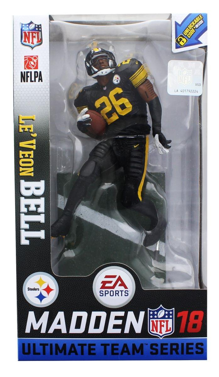19bed6ef7 Pittsburgh Steelers NFL Madden 18 Series 2 Figure  Le Veon Bell (Pro Bowl