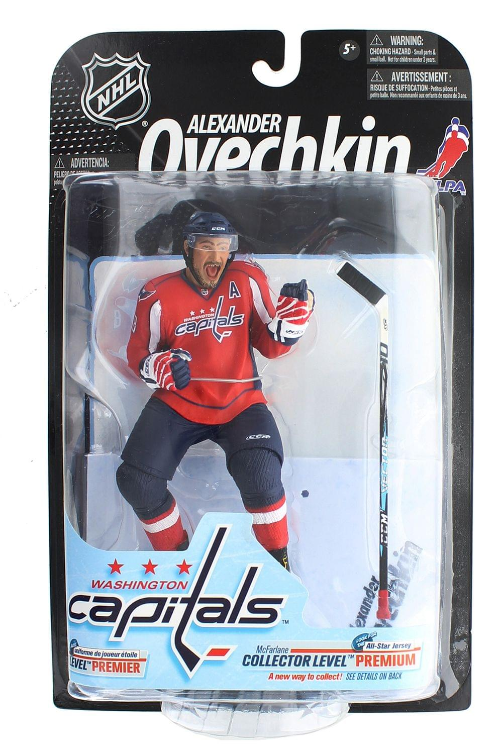 Washington Capitals NHL Series 23 McFarlane Figure - Alexander Ovechkin