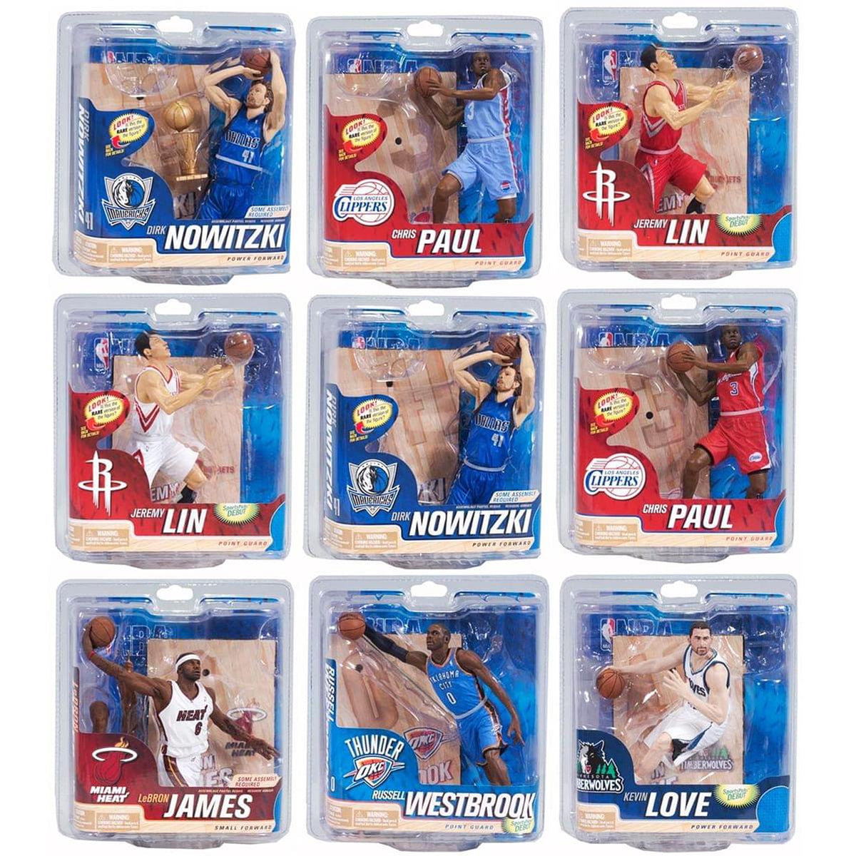 McFarlane NBA Series 21 Action Figures | Assorted Sealed Case of 8 Figures