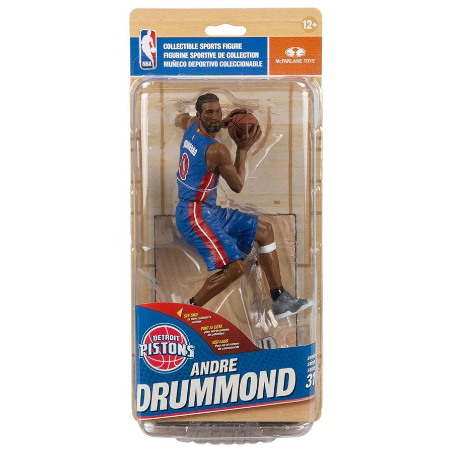 Mcfarlane NBA Series 31 Detroit Pistons Action Figure: Andre Drummond